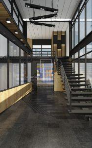 ออกแบบตกแต่งสำนักงาน Industrial Loft Style : บริการออกแบบตกแต่งภายใน