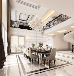 การ ตกแต่งบ้านสไตล์โมเดิร์น ลักชัวรี่ (Modern luxury style)