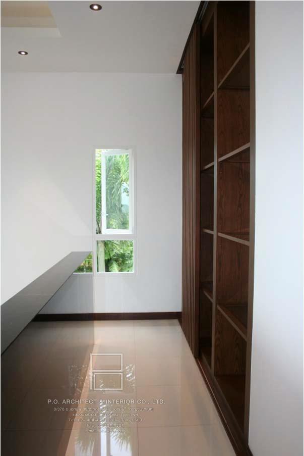 การออกแบบ แบบ Open Plan – P.O. Architect & Interior รับออกแบบตกแต่งภายใน